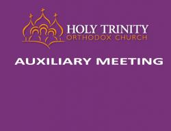 Auxiliary Meeting Sunday, March 5th @ Coffee Hour
