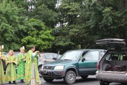 Blessing of Cars After Divine Liturgy
