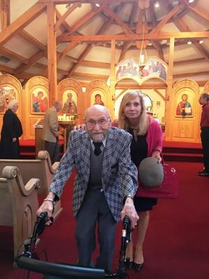 Peter Stavisky turns 96 - Oldest Holy Trinity Parishioner