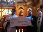 Stewardship - Peter and Helen Stavisky Donation to Holy Trinity Church
