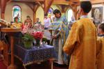 Feast of the Dormition Divine Liturgy, followed by Blessing of Flowers Aug. 15, 2015
