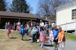 Blessing of Baskets and Egg Hunt