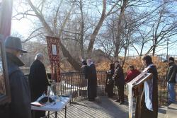 Blessing of McMichael's Creek