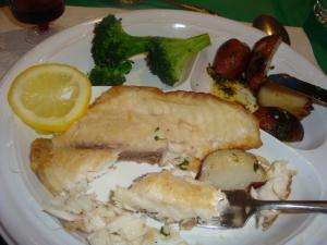 Palm Sunday Fish Dinner